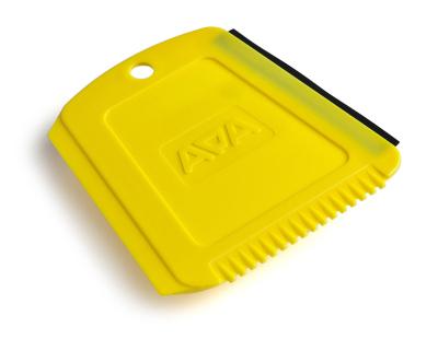 Скребок для стекол Skoda Trapezium ice scraper, Yellow