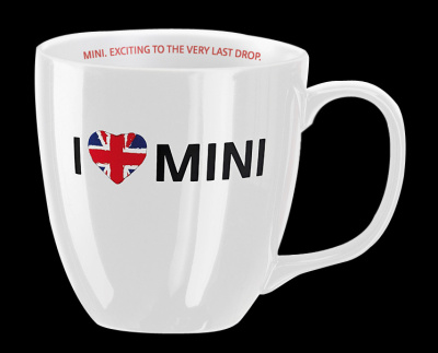 Чашка I love Mini Mug White