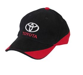 Бейсболка Toyota Baseball Cap, Black-Red