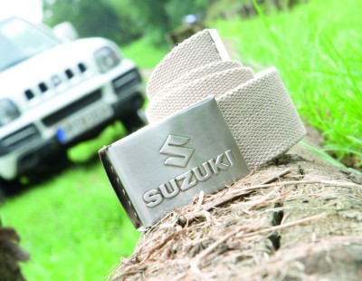 Ремень Suzuki Off-road belt white