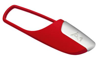 Брелок для ключей Audi A1 key ring red