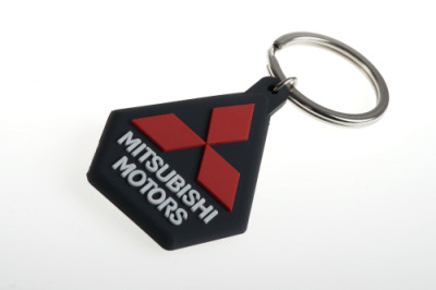 Брелок Mitsubishi Key ring rubber logo