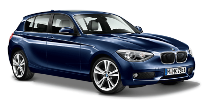 Модель автомобиля BMW 1 Series Five-Door (F20) Blue, Scale 1:43