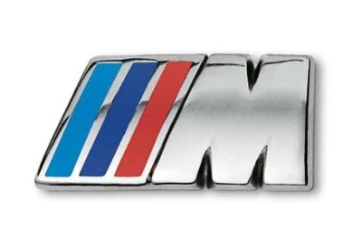 Значок BMW M Logo Badges