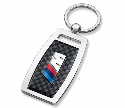 Брелок BMW М Carbon Key Ring Pendant