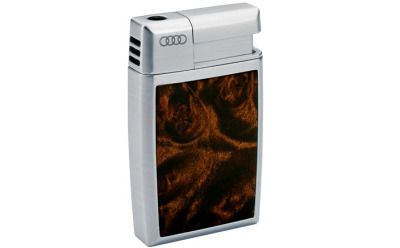 Зажигалка Audi Burl Wood Finis Lighter