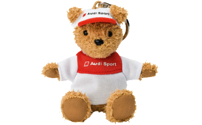 Брелок медведь Audi Motorsport bear key ring 2012