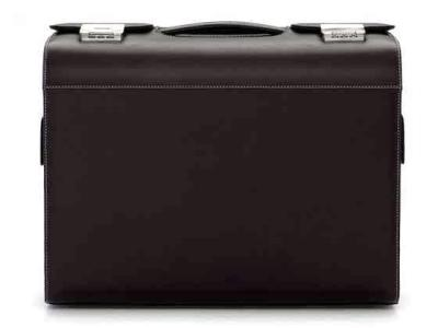 Кейс Audi Collection Black Leather Pilot Case