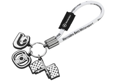 Брелок Mercedes-Benz Motorsport Keyring 2012