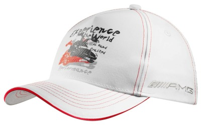 Детская бейсболка Mercedes-Benz AMG Kid's Cap White 2012