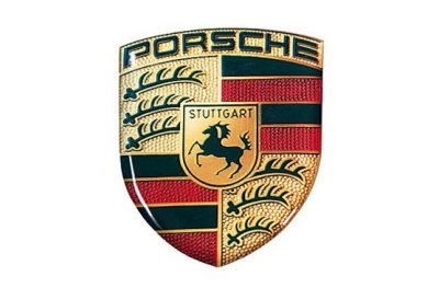 Наклейка герб Porsche Crest 3D Sticker Small