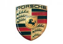 Наклейка герб Porsche Crest 3D Sticker Large