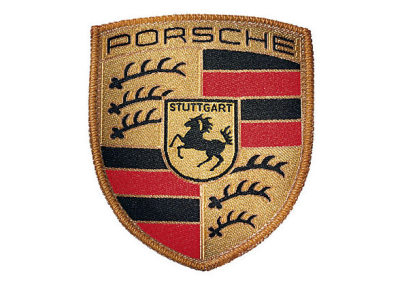 Нашивка-герб Porsche Crest Sew-on Badge
