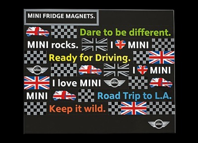 Набор магнитов Mini Fridge Magnets