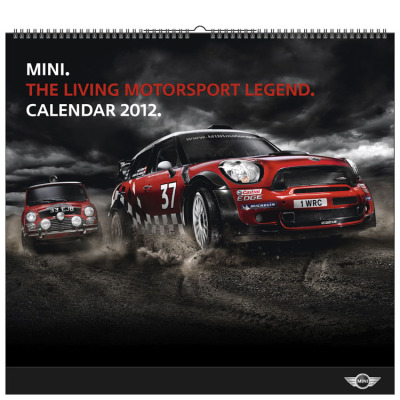 Календарь Mini Motorsport - Wall Calendar 2012