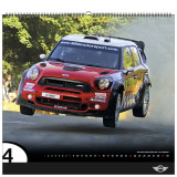 Календарь Mini Motorsport - Wall Calendar 2012, артикул 80602250159