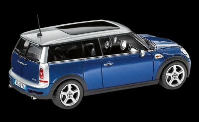 Модель автомобиля Mini Clubman Cooper S Lightning Blue, Scale 1:43