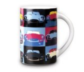 Кружка Jaguar E-Type Porcelain Pop-Art Mug