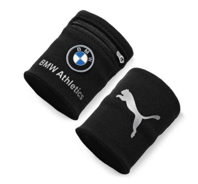 Напульсник с карманом BMW Wrist Wallet Black