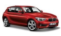 Модель автомобиля BMW 1 Series Five-Door (F20) Red, Scale 1:43