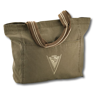 Сумка Cadillac Distressed Canvas Tote
