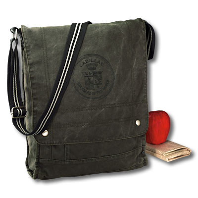 Сумка Cadillac Vertical Notebook Canvas Field Bag