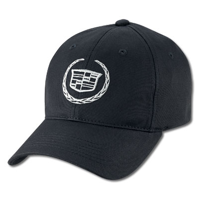 Бейсболка Cadillac Trademark Cap Black L/XL