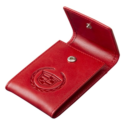 Визитница Cadillac Pocket Cards Holder Red