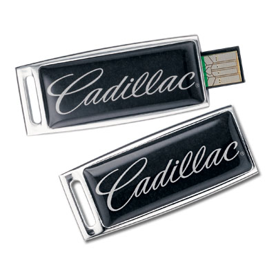 Флешка Cadillac Dynamic USB Drive, 4GB