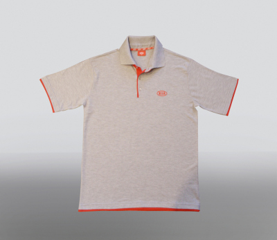Футболка поло Kia Polo Grey Shirt Type 2