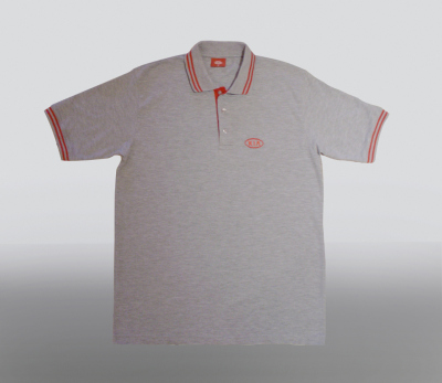 Футболка поло Kia Polo Grey Shirt Type 1