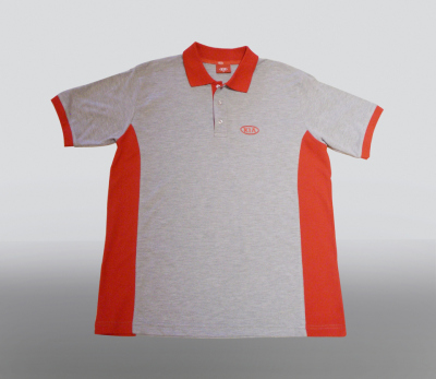 Футболка поло Kia Polo Shirt Red And Grey
