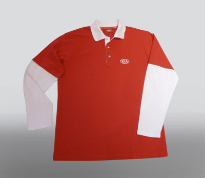 Футболка поло Kia Polo Red Shirt Type 1