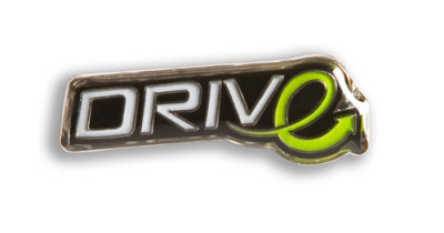 Значок Volvo DRIVe metal pin 28mm.