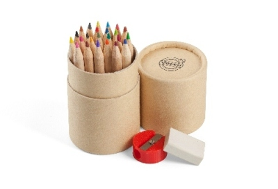 Карандаши Volvo Colouring pencils in paperbox