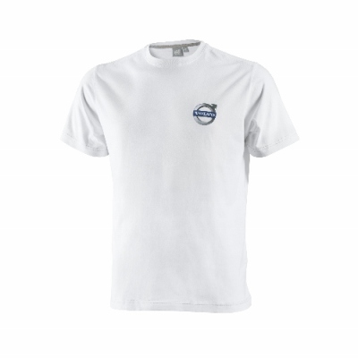 Футболка белая Volvo T-shirt Ironmark, white
