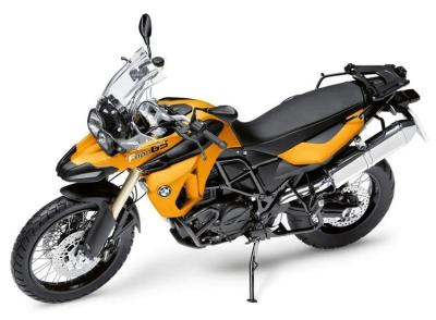 Модель мотоцикла BMW F 800 GS Motorcycle Bike Toy Model, Scale 1:10