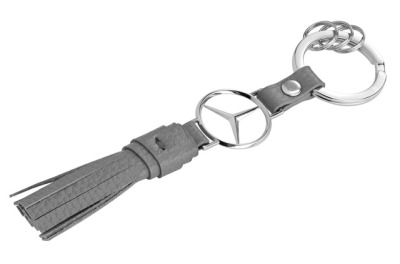 Кожаный брелок Mercedes-Benz Key Chain made from leather