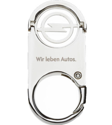 Брелок Opel Key Ring with nickel coin chip