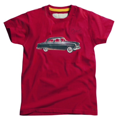Мужская футболка Opel Men´s Tee, red - Auto (Casual Line)