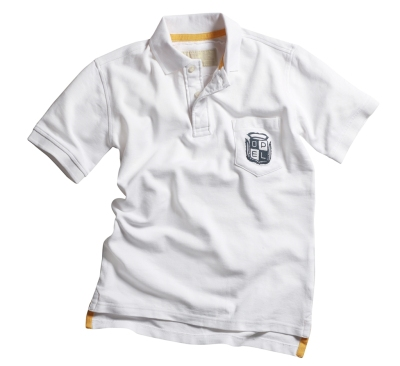 Мужская футболка поло Opel Men´s Polo white - Kraftrad (Casual Line)