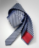 Галстук Mercedes Tie, Blue Stripes, артикул B66950093