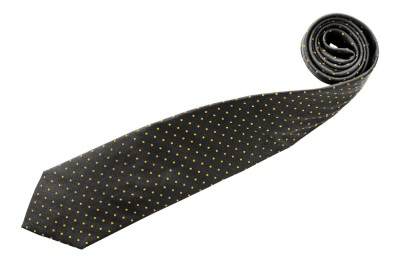 Галстук Mercedes Business Tie, Anthracite/ochre
