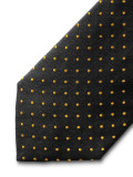 Галстук Mercedes Business Tie, Anthracite/ochre, артикул B66954966