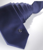Галстук Mercedes Tie With Pin, Navy, артикул B66956453