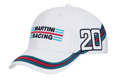 Бейсболка Porsche Martini Racing Baseball Cap, White