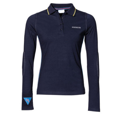 Женская футболка Porsche Women's Martini Racing Long-Sleeved Shirt, Dark Blue