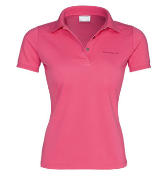 Женское поло Porsche Women's Polo Shirt, Pure Pink