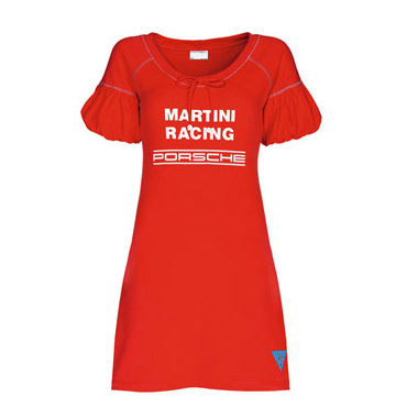 Женское платье Porsche Women's Martini Racing Beach Dress, Red