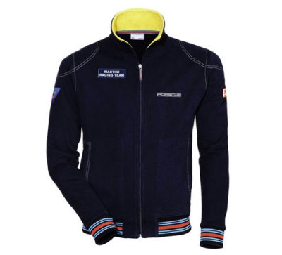 Мужская спортивная куртка Porsche Men's Martini Racing Sports Jacket, Dark Blue